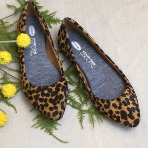 Women's Dr Scholl's Animal Print Slip On Flats 6
